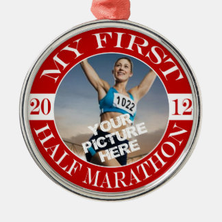 My First Marathon - 2012 Christmas Tree Ornaments