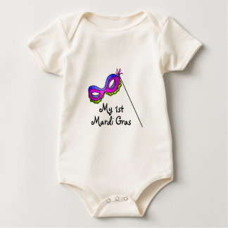 My First Mardi Gras Baby Bodysuit