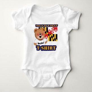 My First Maryland Teddy Bear Shirt