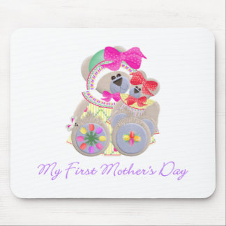 My First Mother's Day (bear) Mouse Pad