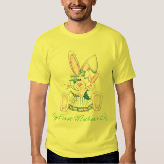 My First Mother's Day (bunny) Tee Shirt