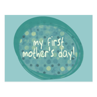 My first Mother's Day Postcard