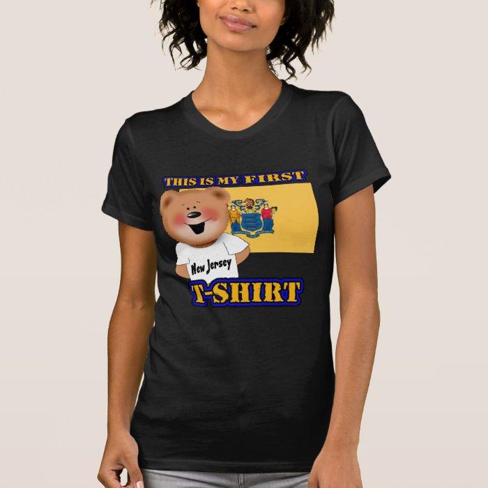 My First New Jersey Teddy Bear Shirt