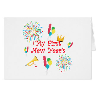 My First New Year's Card