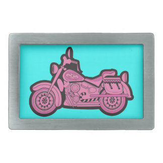 My First Pink Motorcycle Belt Buckles