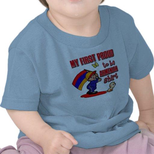 My First Proud To Be Armenian Shirt