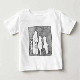 My first sketch! Larry Burdeschitze goes designy. Baby T-Shirt