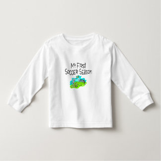 My First Soccer Season Stick Figures Toddler T-shirt