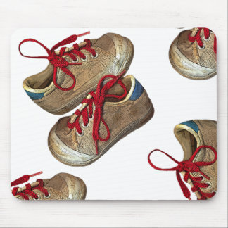 My first tennis shoes mouse pad
