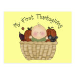 My First Thanksgiving 1 Postcard