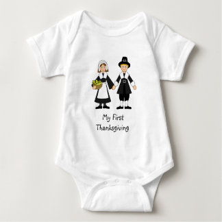 My First Thanksgiving -- Baby Tshirt