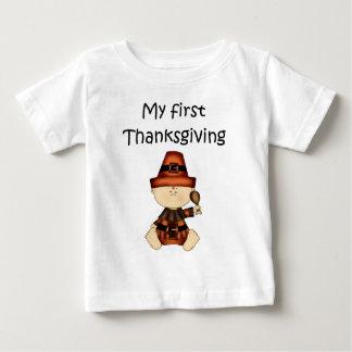My First Thanksgiving Boy #1 *T-shirt* Baby T-Shirt