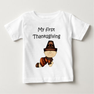My First Thanksgiving Boy #2 *T-shirt* Baby T-Shirt