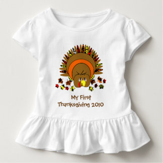 My first Thanksgiving Cute Turkey Toddler T-shirt