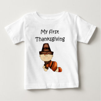 My First Thanksgiving Girl #1 *T-shirt* Tshirt