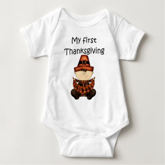 My First Thanksgiving Girl #2 *Creeper* Tees