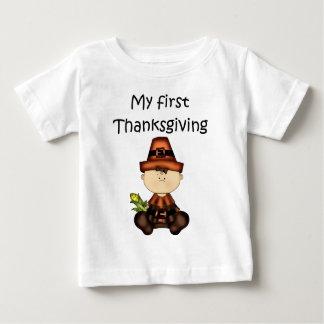 My First Thanksgiving Girl #3 *T-shirt* Baby T-Shirt