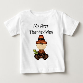 My First Thanksgiving Girl #3 *T-shirt* Tees