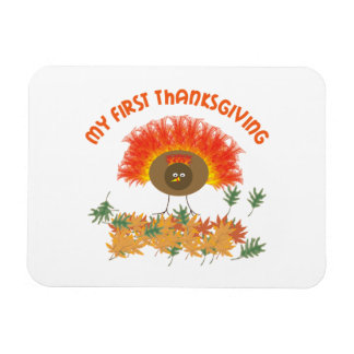 My First Thanksgiving Magnet