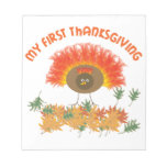 My First Thanksgiving Memo Note Pads