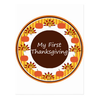 My First Thanksgiving Postcards
