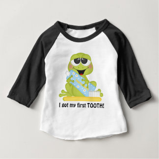 My First Tooth unisex baby t-shirt