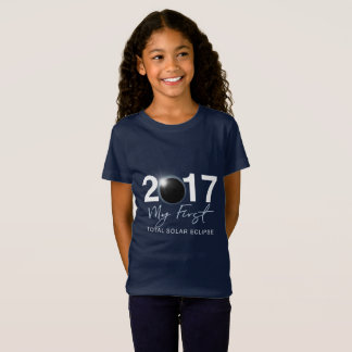 My first total solar eclipse funny tee