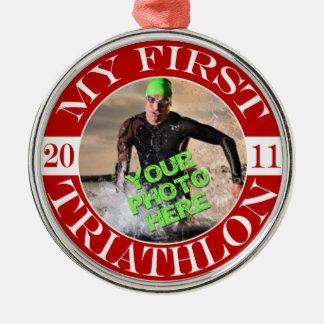 My First Triathlon - 2011 Christmas Ornaments