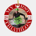 My First Triathlon - 2011 Ornaments