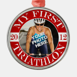 My First Triathlon - 2012 Christmas Ornament