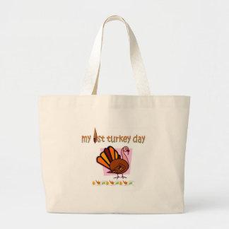 my first turkey day girls bag