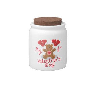 My First Valentines Day Candy Jar