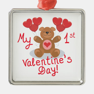 My First Valentines Day Christmas Ornaments