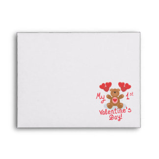 My First Valentines Day Envelope