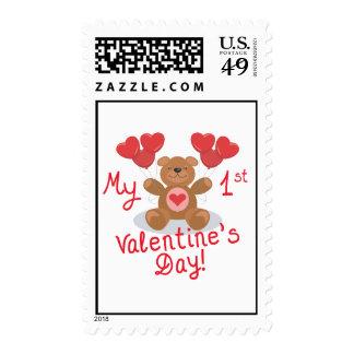 My First Valentines Day Stamp