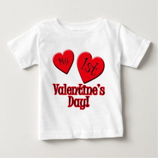 My First Valentine's Day Tshirt for Baby