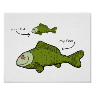 My Fish is BIGGER. Poster