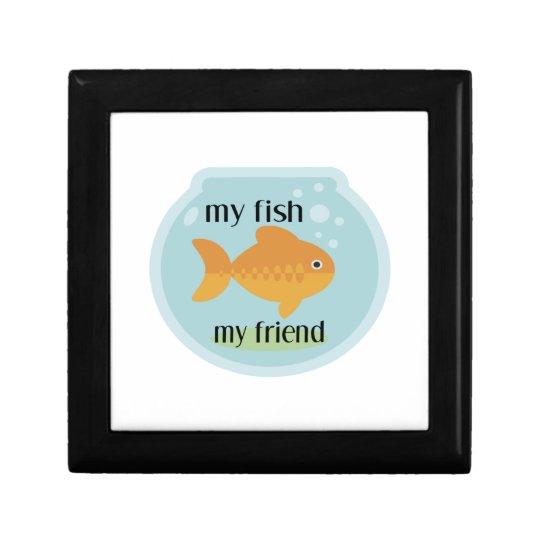My Fish My Friend Jewelry Box