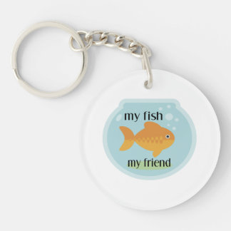 My Fish My Friend Keychain