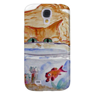 My Fishbowl, Meows Tiger Kitten Samsung S4 Case