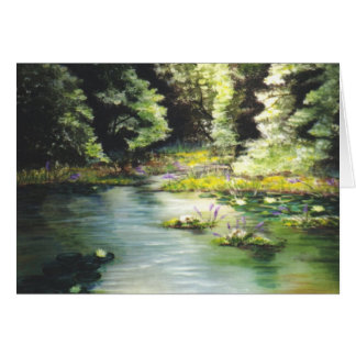 """My Fishing Hole"" Greeting Card"
