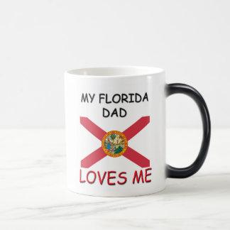 My FLORIDA DAD Loves Me 11 Oz Magic Heat Color-Changing Coffee Mug