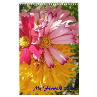 My Flowers 2012 Calendar