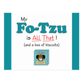 My Fo-Tzu is All That! Postcard