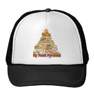 My Food Pyramid ~ Junk Food Snacks Trucker Hat