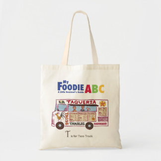 My Foodie ABC: 'T' is for Taco Truck Tote Bag