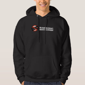 My freedom doesn't need to be changed Bumpers Hooded Pullover