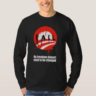 My freedom doesn't need to be changed Bumpers Tshirts