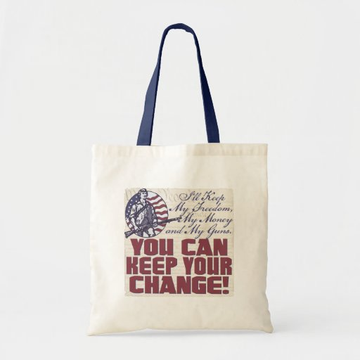 My Freedom, My Money and My Guns Gear Budget Tote Bag