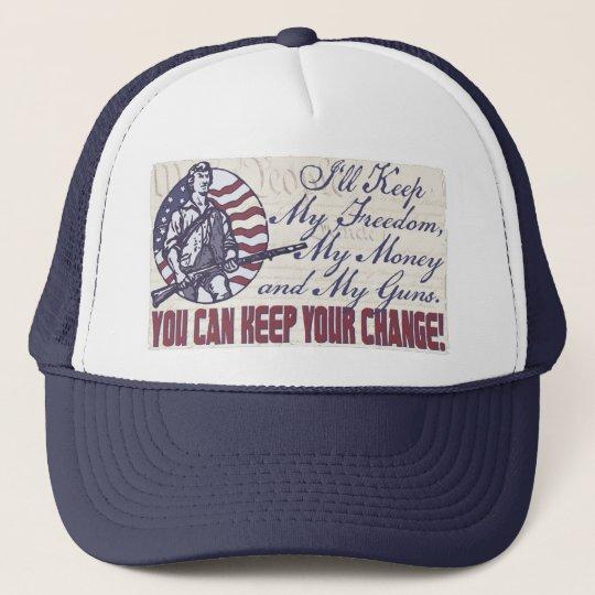 My Freedom, My Money and My Guns Gear Trucker Hat